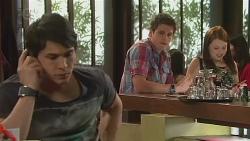 Aidan Foster, Chris Pappas, Summer Hoyland in Neighbours Episode 6543