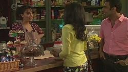 Vanessa Villante, Priya Kapoor, Ajay Kapoor in Neighbours Episode 6544