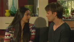 Rani Kapoor, Harley Canning in Neighbours Episode 6545