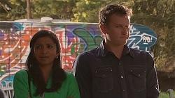 Priya Kapoor, Lucas Fitzgerald in Neighbours Episode 6545