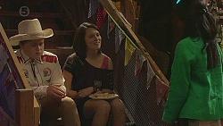 Callum Jones, Sophie Ramsay, Priya Kapoor in Neighbours Episode 6545