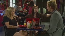 Natasha Williams, Summer Hoyland, Andrew Robinson in Neighbours Episode 6547