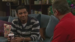 Ajay Kapoor, Karl Kennedy in Neighbours Episode 6548