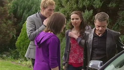 Andrew Robinson, Sophie Ramsay, Kate Ramsay, Paul Robinson in Neighbours Episode 6548