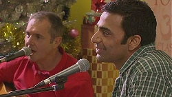 Karl Kennedy, Ajay Kapoor in Neighbours Episode 6548