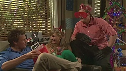 Scotty Boland, Georgia Brooks, Kyle Canning in Neighbours Episode 6550