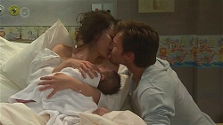 Vanessa Villante, Patrick Villante, Rhys Lawson in Neighbours Episode 6550