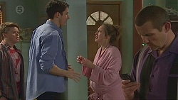 Callum Jones, Alex Delpy, Sonya Mitchell, Toadie Rebecchi in Neighbours Episode 6550