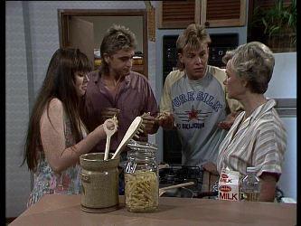 Nikki Dennison, Shane Ramsay, Scott Robinson, Helen Daniels in Neighbours Episode 0249