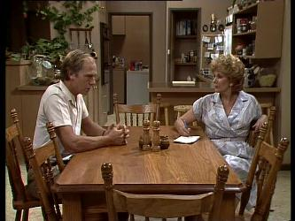 Fred Mitchell, Madge Bishop in Neighbours Episode 0249