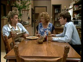 Shane Ramsay, Madge Mitchell, Danny Ramsay in Neighbours Episode 0249