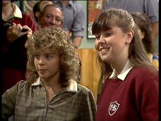 Charlene Mitchell, Nikki Dennison in Neighbours Episode 0249