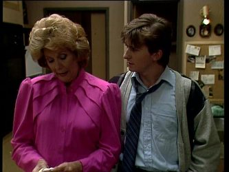 Madge Bishop, Danny Ramsay in Neighbours Episode 0251