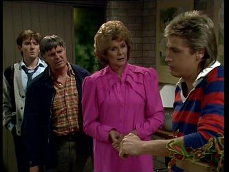 Danny Ramsay, Tom Ramsay, Madge Bishop, Shane Ramsay in Neighbours Episode 0251