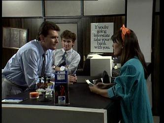 Des Clarke, Danny Ramsay, Zoe Davis in Neighbours Episode 0252