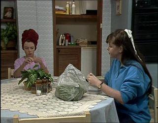 Charlene Mitchell, Nikki Dennison in Neighbours Episode 0254