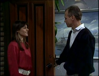 Zoe Davis, Jim Robinson in Neighbours Episode 0255