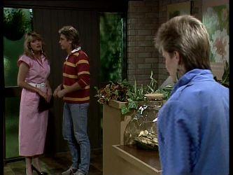 Debra Fleming, Shane Ramsay, Daphne Lawrence in Neighbours Episode 0257