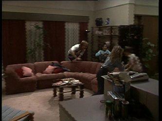 Scott Robinson, Lucy Robinson, Charlene Mitchell, Bradley Townsend in Neighbours Episode 0259
