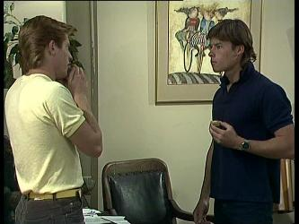 Clive Gibbons, Mike Young in Neighbours Episode 0259