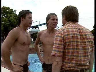 Mike Young, Scott Robinson, Tom Ramsay in Neighbours Episode 0260