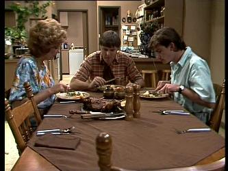 Madge Bishop, Tom Ramsay, Danny Ramsay in Neighbours Episode 0261