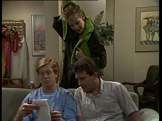 Clive Gibbons, Daphne Clarke, Des Clarke in Neighbours Episode 0262