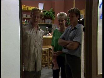 Clive Gibbons, Daphne Clarke, Mike Young in Neighbours Episode 0263