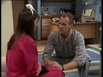 Zoe Davis, Jim Robinson in Neighbours Episode 0263
