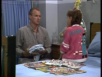Jim Robinson, Lucy Robinson in Neighbours Episode 0263