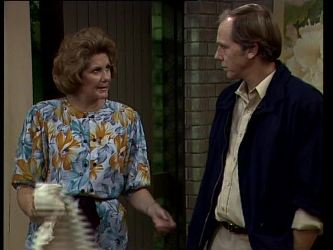 Madge Bishop, Fred Mitchell in Neighbours Episode 0268