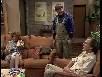 Madge Bishop, Tom Ramsay, Fred Mitchell in Neighbours Episode 0268