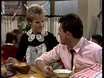 Daphne Lawrence, Des Clarke in Neighbours Episode 0269