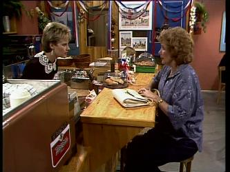 Daphne Clarke, Madge Bishop in Neighbours Episode 0270