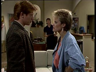 Clive Gibbons, Mike Young, Daphne Clarke in Neighbours Episode 0270