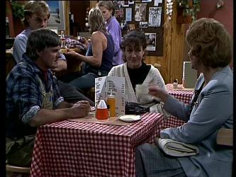 Tom Ramsay, Scott Robinson, Shane Ramsay, Daphne Clarke  Jean Richards, Madge Bishop in Neighbours Episode 0272