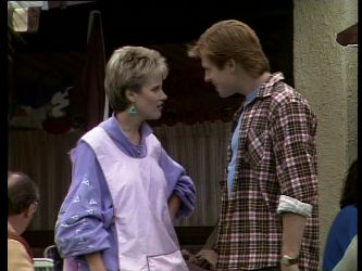 Daphne Clarke, Clive Gibbons in Neighbours Episode 0272