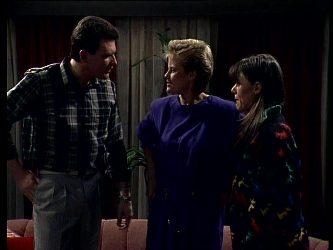 Des Clarke, Daphne Lawrence, Zoe Davis in Neighbours Episode 0273