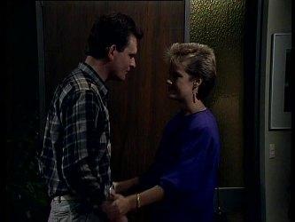 Des Clarke, Daphne Lawrence in Neighbours Episode 0273