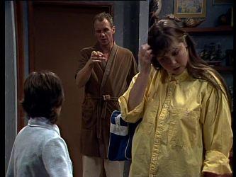 Lucy Robinson, Jim Robinson, Nikki Dennison in Neighbours Episode 0273