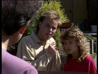 Nell Mangel, Scott Robinson, Charlene Mitchell in Neighbours Episode 0276