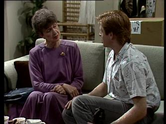 Nell Mangel, Clive Gibbons in Neighbours Episode 0276