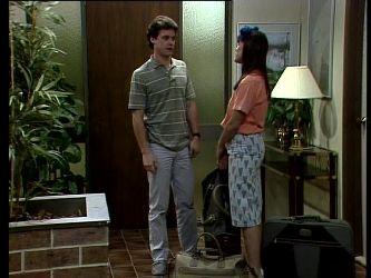 Paul Robinson, Zoe Davis in Neighbours Episode 0276