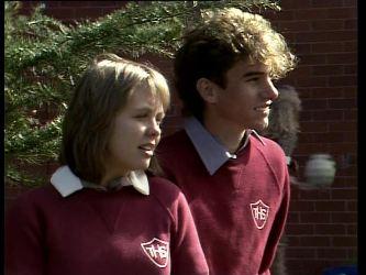 Sue Parker, Roger in Neighbours Episode 0277