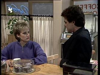 Daphne Clarke, Paul Robinson in Neighbours Episode 0277