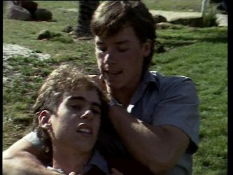 Roger, Mike Young in Neighbours Episode 0278