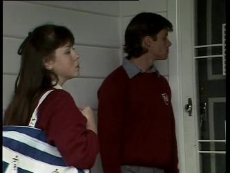 Nikki Dennison, Mike Young in Neighbours Episode 0278