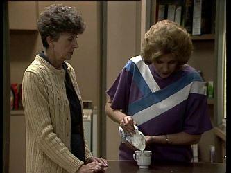 Nell Mangel, Madge Bishop in Neighbours Episode 0279