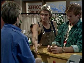 Daphne Clarke, Shane Ramsay, Clive Gibbons in Neighbours Episode 0280