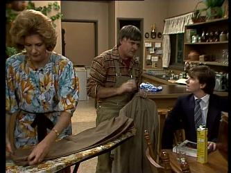 Madge Bishop, Tom Ramsay, Danny Ramsay in Neighbours Episode 0281